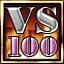 100 online matches