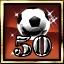 50 online matches won