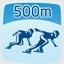 500 m Short Track Hero