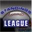 View League Standings screen
